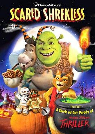 Scared Shrekless - DVD cover