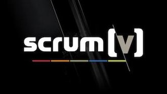 Scrum V - Title card for Scrum V, as used in 2014