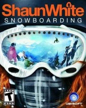 Shaun White Snowboarding - Cover art