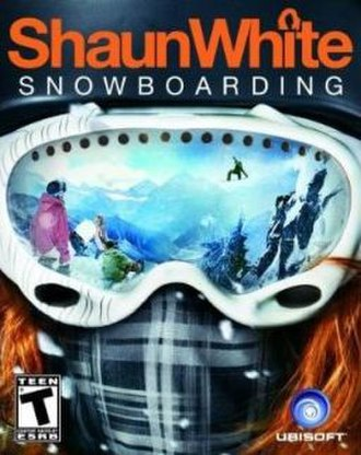 Shaun White Snowboarding - Cover art