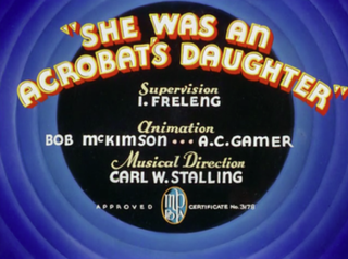 <i>She Was an Acrobats Daughter</i>