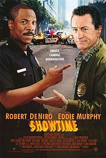 <i>Showtime</i> (film) 2002 action comedy film directed by Tom Dey