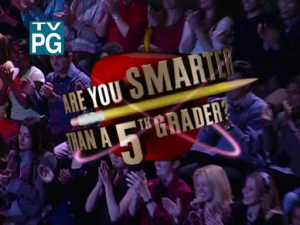 Are You Smarter than a 5th Grader? (U.S. game show) - Image: Smarter than a Fifth Grader small
