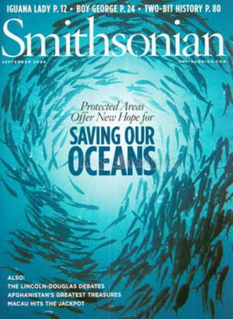 Smithsonian (magazine) - September 2008 cover of Smithsonian