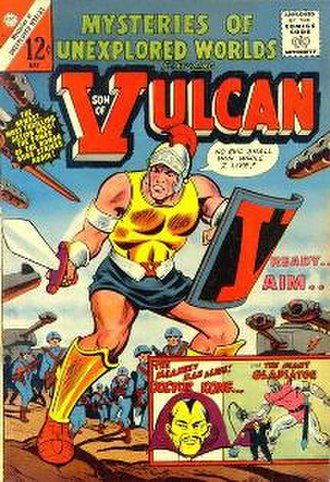 Son of Vulcan - Image: Sonofvulcan cover