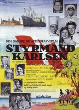 Styrmand Karlsen - Poster by Aage Lundvald