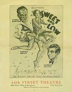 <i>Sweet and Low</i> (musical) musical