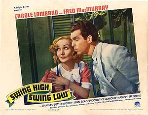 Swing High, Swing Low (film) - Theatrical poster