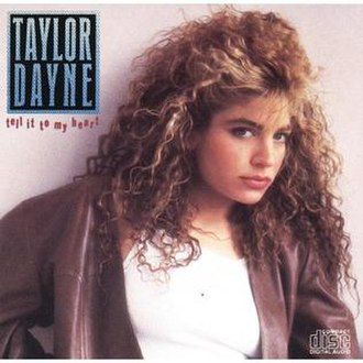 Tell It to My Heart (album) - Image: Taylor dayne tell it to my heart