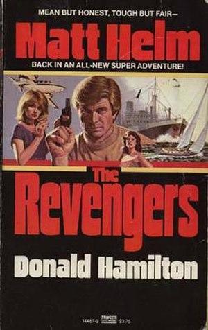 The Revengers (novel) - 1982 paperback edition