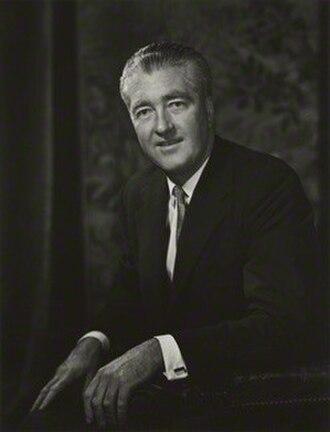 Morys Bruce, 4th Baron Aberdare - Image: The 4th Baron Aberdare in 1967