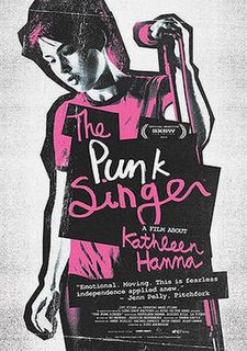<i>The Punk Singer</i> 2013 documentary film directed by Sini Anderson