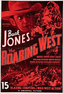 <i>The Roaring West</i> 1935 film by Ray Taylor