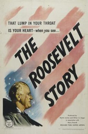 The Roosevelt Story - Theatrical release poster