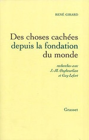 Things Hidden Since the Foundation of the World - Cover of the French edition