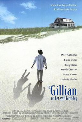 To Gillian on Her 37th Birthday - Theatrical release poster