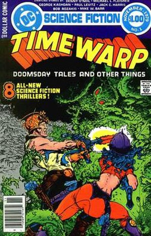 Time Warp (comics) - Image: Time Warp 1 1979