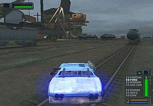 Twisted Metal - Development Screenshot of Twisted Metal: Harbor City