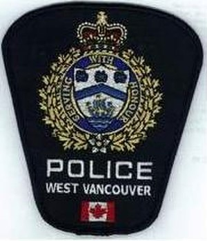 West Vancouver Police Department - Image: WVPD Flash
