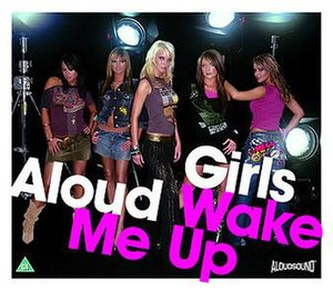 Wake Me Up (Girls Aloud song) - Image: Wake Me Up Cover CD2