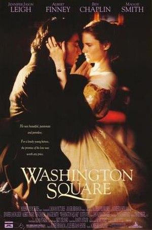 Washington Square (film) - Home video release poster