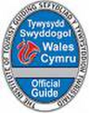 Blue Badge tourist guide - Image: Welsh blue badge