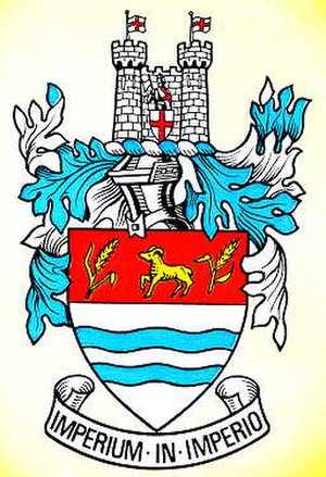Wetherby Rural District - Image: Wetherbycoatofarms