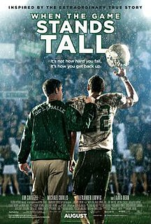 <i>When the Game Stands Tall</i> 2014 film by Thomas Carter