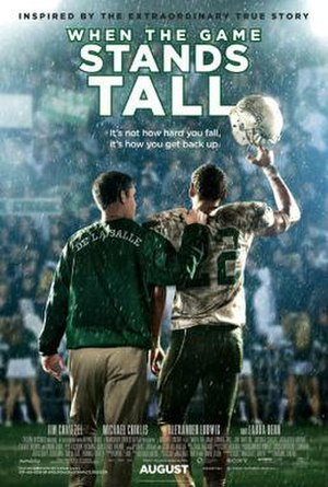 When the Game Stands Tall - Theatrical release poster