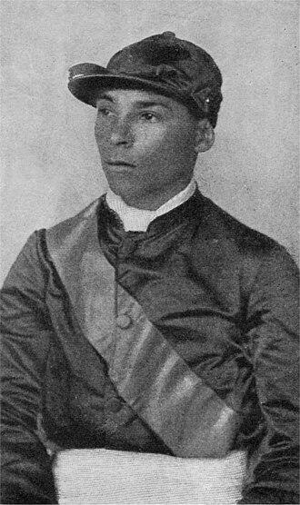 Willie Simms - Willie Sims, circa 1900.