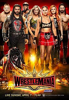 WrestleMania 35 2019 WWE pay-per-view and WWE Network event