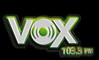 XHMICH-FM - Image: XHMICH VOX103.3FM logo