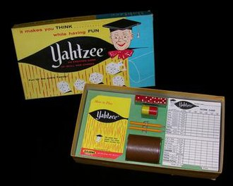 Yahtzee - The Original 1956 Yahtzee Board Game