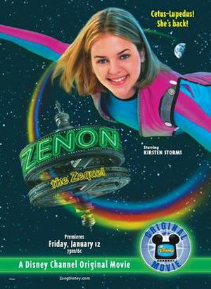 Zenon: The Zequel - Promotional poster