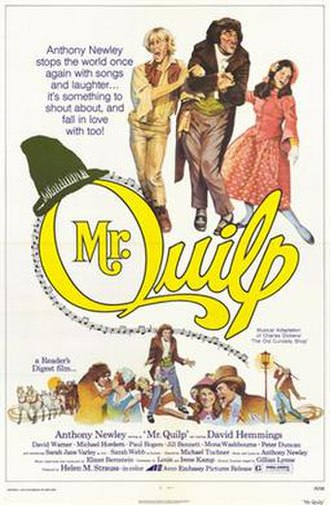 Mister Quilp - U.S. theatrical poster
