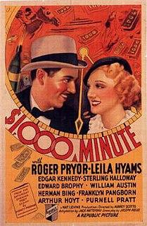<i>1,000 Dollars a Minute</i> 1935 film