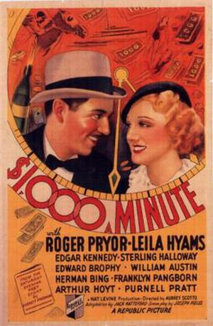 1,000 Dollars a Minute - Film Poster