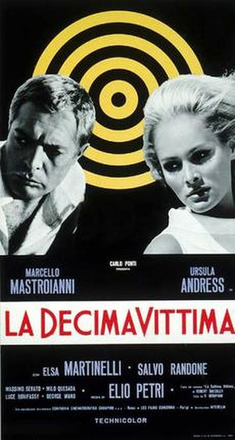 The 10th Victim - Italian film poster