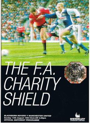1994 FA Charity Shield - Image: 1994 FA Charity Shield programme