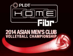 2014 Asian Men's Club Volleyball Championship logo.png