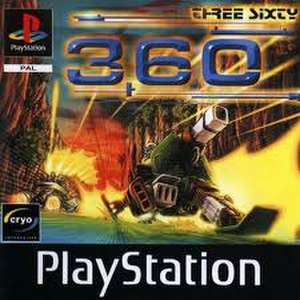 360: Three Sixty - Image: 360 Three Sixty (Playstation video game) boxart
