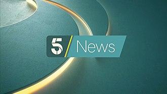 5 News - Image: 5 news open 2016