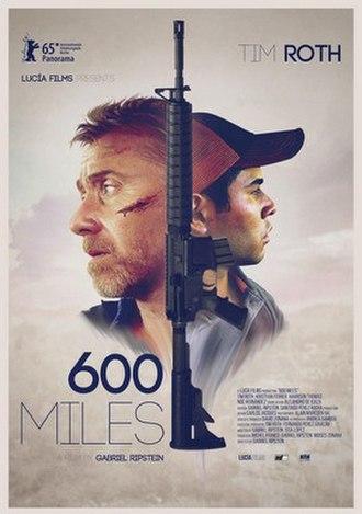 600 Miles - Film poster