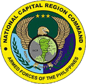 National Capital Regional Command (Philippines) - Image: AFP National Capital Regional Command