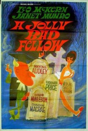 A Jolly Bad Fellow - US Film poster