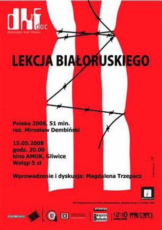 A Lesson of Belarusian - Promotional poster