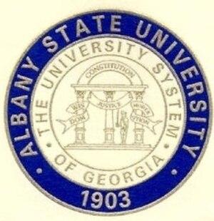 Albany State University - Image: Albany State University Academic Seal