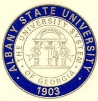 Albany State University - Image: Albany State University Academic Seal