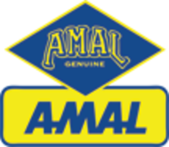 Amal (carburettor) - Image: Amal Carburettors logo