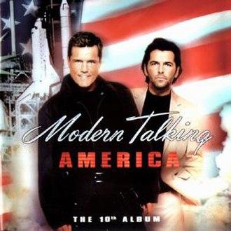 America (Modern Talking album) - Image: America Modern Talking